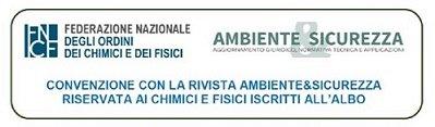 Convenzione Ambiente&Sicurezza e Osservatorio FNCF